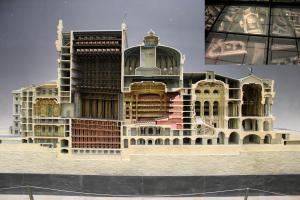 オペラ座の断面模型