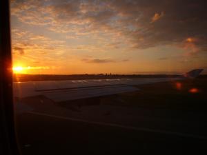 シャルル・ドゴール空港を離陸