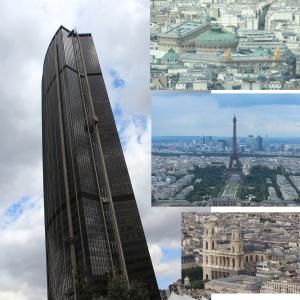モンパルナスタワーからの眺め