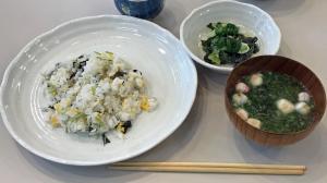 料理教室、今月の成果物3品
