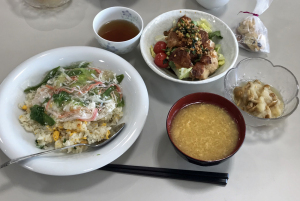 今月の男の料理教室は、中華で4品