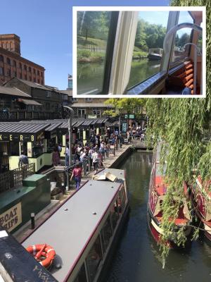 リージェンツ運河の定期カナルボート