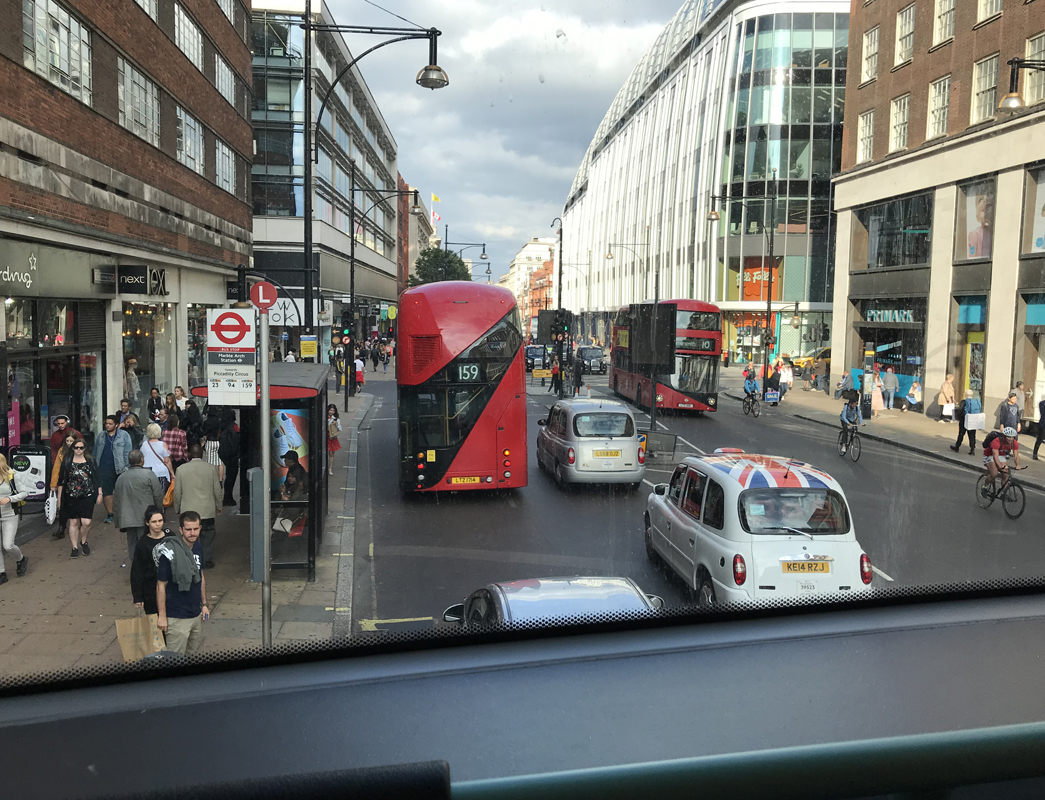 2階建てバスに乗ってみたら・・・