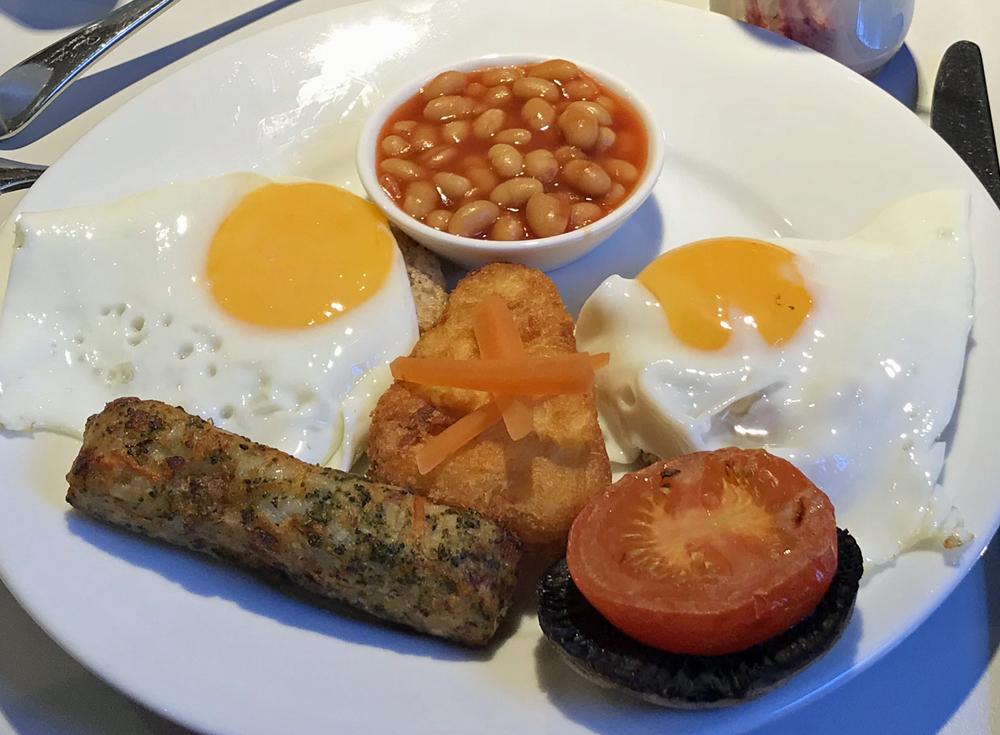 ロンドン紀行32、ホテルの朝食その2