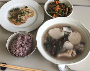 冬の薬膳養生料理を4品