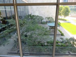 こんなところに日本庭園が・・・