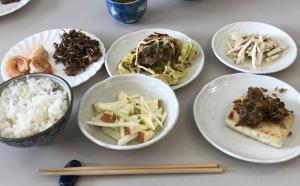 男の料理、今日は多品種