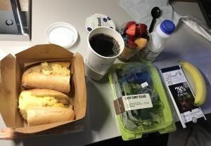 NYCでの最後の朝食