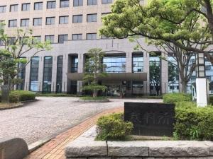 長崎街道を歩く(その3の3) 裁判所の玄関の謎が解けた