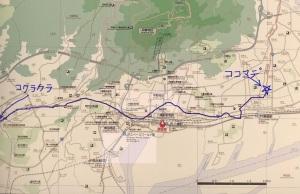 長崎街道を歩く(その8の4) 小倉から黒崎まで踏破